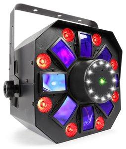 BEAMZ Multi Acis IV led met laser en stroboscoop