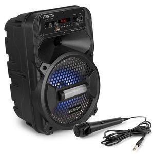 """FENTON FPC8 8"""" krachtige portable speaker ook geschikt voor Karaoke."""