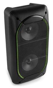 "FENTON SBS60 2x4"" party speaker met ingebouwde Bluetooth ontvanger, oplaadbare Lithium-ion accu."