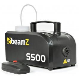 BeamZ S500 Kunststof Rookmachine inclusief rookvloeistof