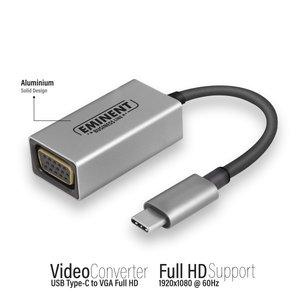 Eminent USB Type-C naar VGA converter