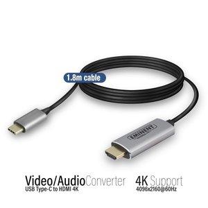 Eminent USB Type-C naar HDMI 4K Aansluitkabel 1,8m