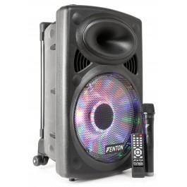 """Fenton FPS12 mobiele speaker 12"""" met accu en Bluetooth"""