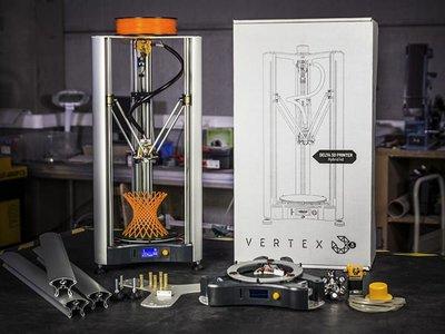 Vertex Delta 3D printer tijdelijk gratis met Vertex starterpack  (dec.2018)