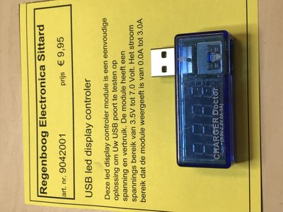 USB led display controler