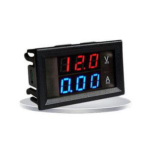 REKIT R8901 Paneelmeter digitaal dual display 0-100V DC /  0-10A DC