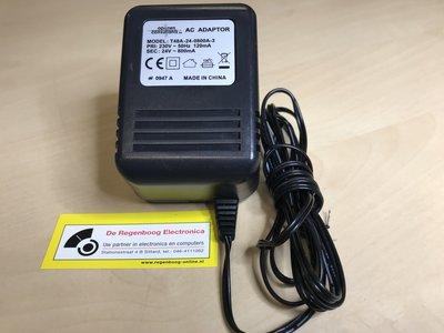 Adapter 230 VAC naar 24VAC 800mA