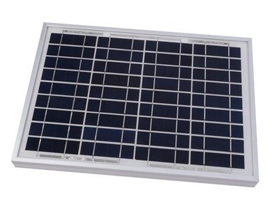 Zonnepaneel 10W 12V Polykristallijn SOL10P