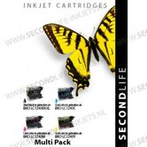 Multipack-Replacement-SL-for-Brother-1240-BK-C-M-en-Y
